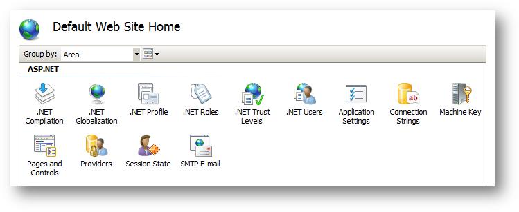 IIS ASP.NET szolgáltatásai
