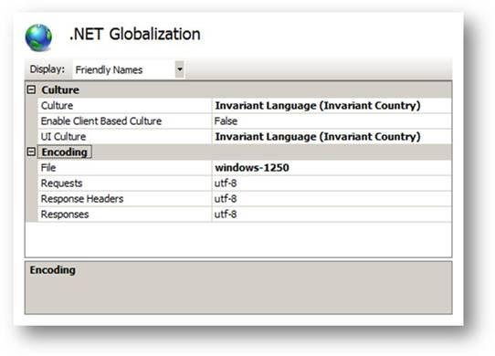 ASP.NET Globalization