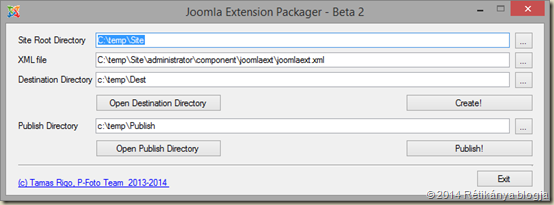 Joomla Extension Packager