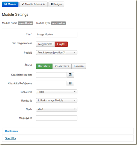 Joomla Modul Admin in Front End site